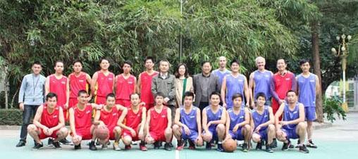 祝贺安邦信国内营销部和国际贸易部篮球友谊赛圆满落幕